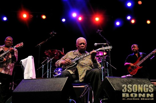 BB King in Bonn 2011