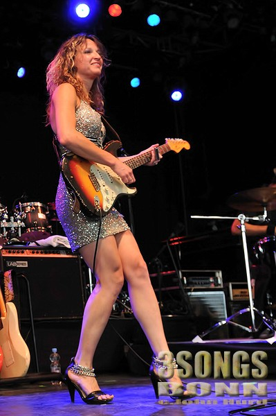 Ana Popovic in Bonn with BB King