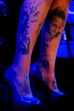 Tatooed lady - with Tom Waits