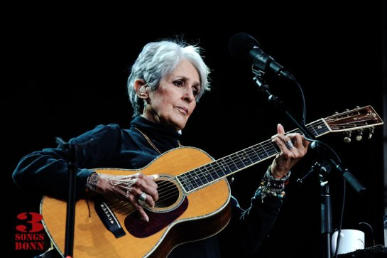 The legendary Joan Baez at Kunstrasen
